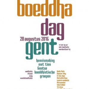 Boeddhadag in Gent met tien boeddhische verenigingen