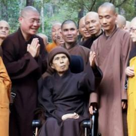 Update over de gezondheidstoestand van Thich Nhat Hanh