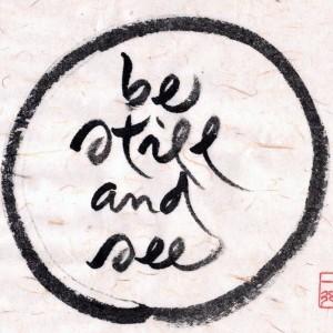 30 oktober: Dag van de Stilte. Je kunt ook meedoen met je sangha.