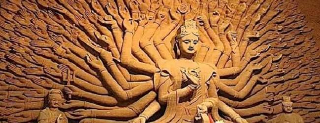 Blog - Gezocht: duizend spinners voor de Boeddha
