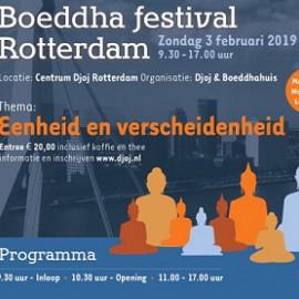 Zondag 3 feb: Boeddhafestival Rotterdam