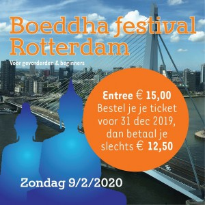 Vijfde editie Boeddhafestival Rotterdam