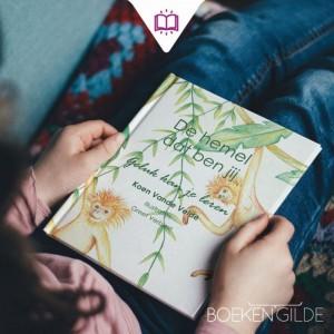 Nieuw kinderboek over mindfulness 'De hemel dat ben jij'
