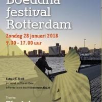 28 januari: Boeddha Festival Rotterdam - maak kennis met diverse boeddhistische groepen