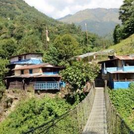 13-daagse wandelmeditatie met broeders Plum Village in Himalaya