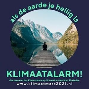 Klimaatalarm 2021. Doe mee aan lokale of online acties