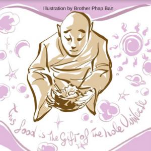 Mindful eating, vegetarische recepten van Plum Village