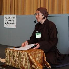 Bezoek nonnen en monniken Plum Village groot succes